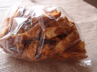 黒糖食パンラスク