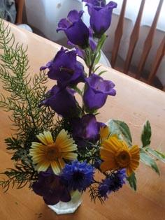 むっちゃんのお花
