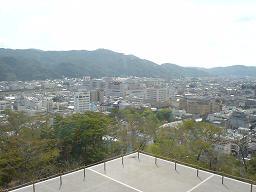鶴山公園からの展望