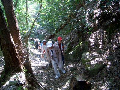 比良の歴史ハイキング