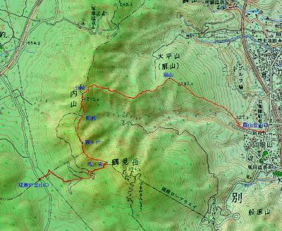 2007.6.03内山~扇山