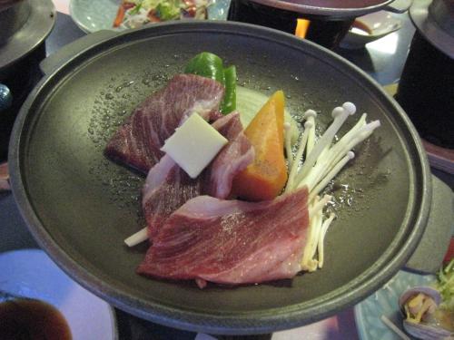 前日の住吉浜リゾートホテル 夕食
