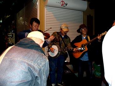 フィドルのバンド