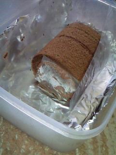 ロールケーキおすそわけ