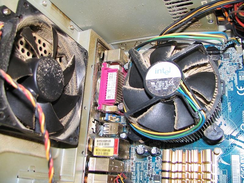 パソコンフィルター装着前3