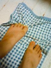 足指筋トレ
