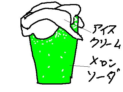 クリームソーダ