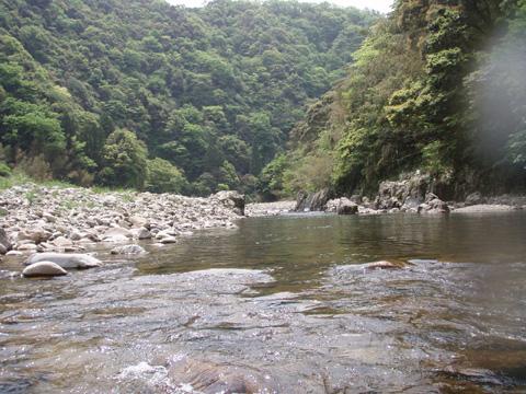 高津川の風景
