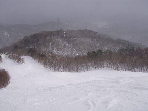 雄鹿原高原スキー場の景色