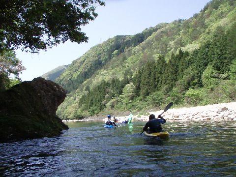宇佐川の風景