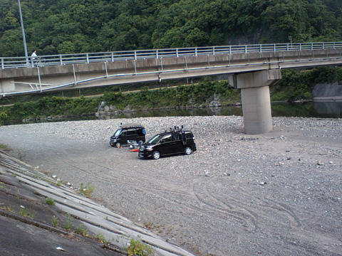 今日の錦川