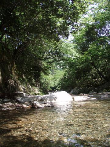 ブルーラグーンの風景