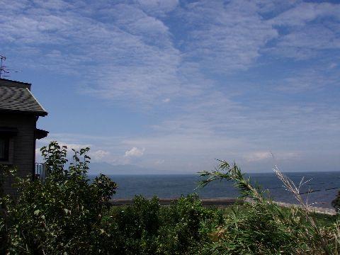 有明海方向の風景