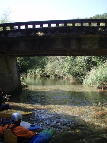 スタート地点の橋