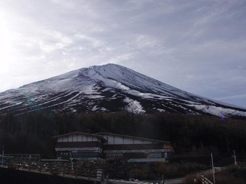 富士山5合目から観る山頂