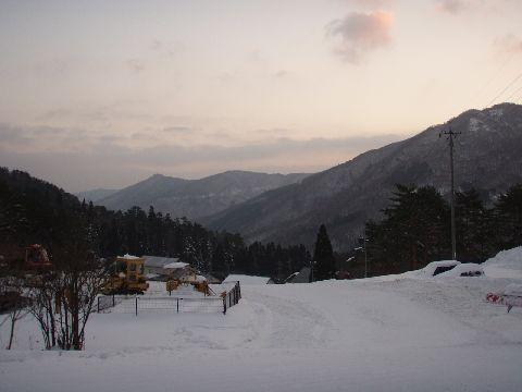 恐羅漢からの風景