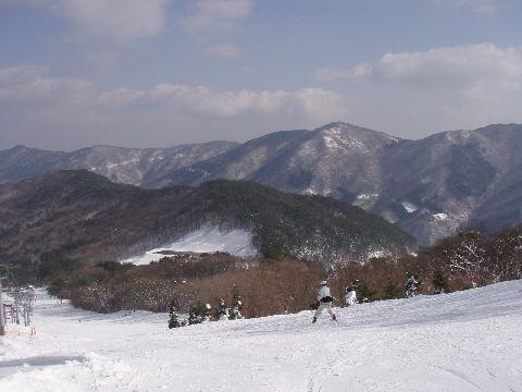 立山コースの中間点からの風景