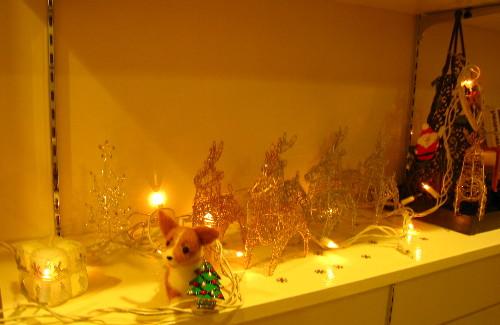 2008クリスマス棚1