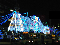 イルミネーション吉祥寺駅前