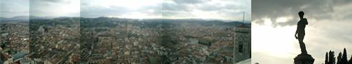 丘の上のダヴィデ