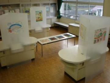 ものづくり学校展示風景