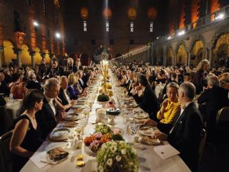 ノーベル賞 晩餐会