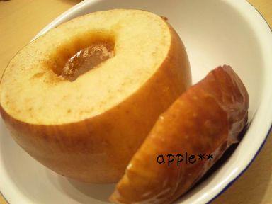 untitled焼きリンゴ