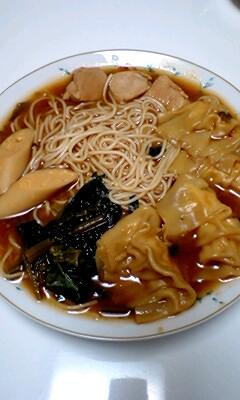 キムチ鍋でにゅーめん。
