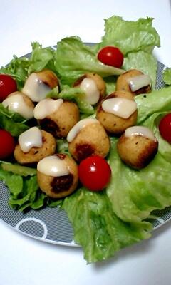 コロコロ豆腐ハンバーグ
