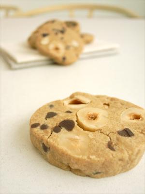チョコナッツクッキーb