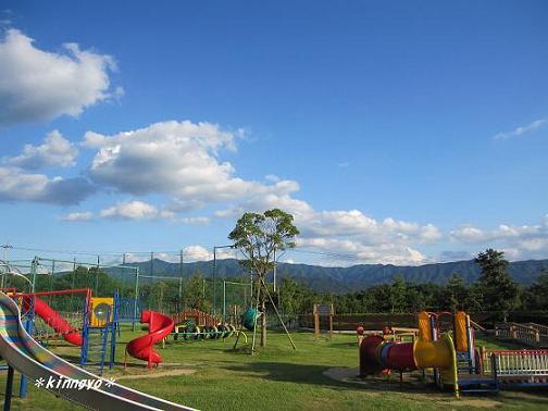 公園からの空^^