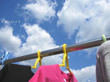 空とTシャツ