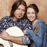 Billy Ray Cyrus with Miley Cyrus