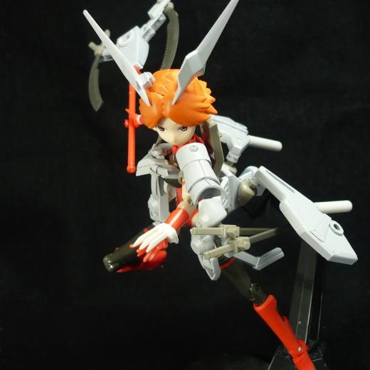 雷型武装神姫(製作中)