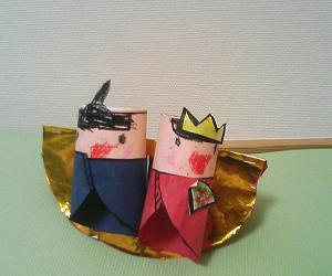 手作りひな人形3