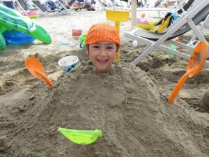 楽しい砂遊び☆