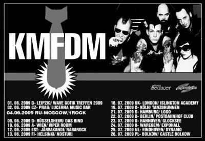 kmfdm tour