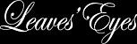 Leaves Eyes Homepage