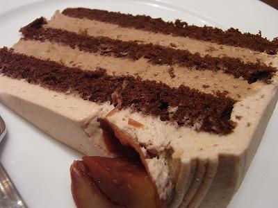 マロンチョコケーキ