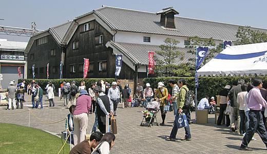 白鶴酒造・灘の酒蔵開放2009-1