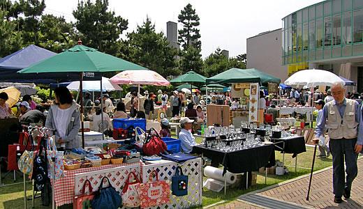 芦屋2009春のアートフリーマーケット-1