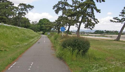 武庫川サイクリングロード-2