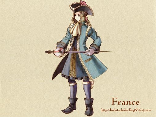 【FFT風ヘタリア】フランス