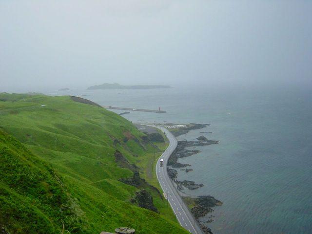 雨の礼文島 ハイキング0000