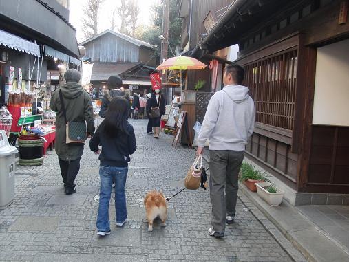 横丁の散歩