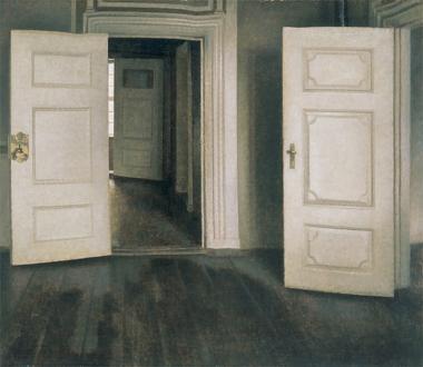 白い扉、あるいは開いた扉