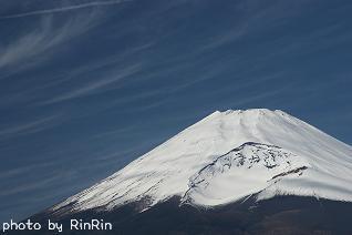水ケ塚から見る富士山が好き☆