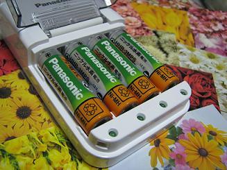 地球にやさしい充電池だそうです☆