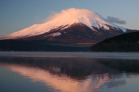 今年の初日の出☆山中湖です