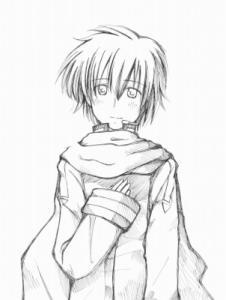 あなたと ~KAITO~ 線画
